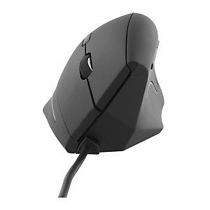 TNB Souris ergonomique verticale filaire - Noir