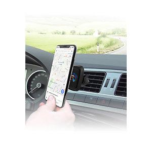 TNB Support smartphone voiture, Fixation magnétique pour grille d'aération