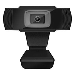 TNB Webcam 720P HD - Microphone intégré - Filaire USB 2.0 - Noire