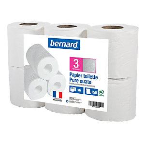 Toiletpapier Bernard 3 lagen, 48 rollen