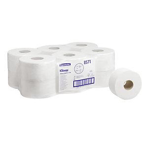 Toiletpapier Kleenex Jumbo, 12 rollen