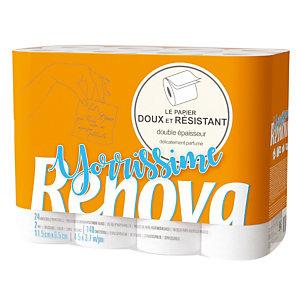 Toiletpapier Renova Yorissime, 24 rollen