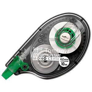 TOMBOW Mono CT-YT4 Corrector en cinta lateral, 4,2 mm x 10 m