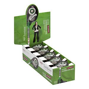 TOMBOW Roller de correction MONO TAPE 4,2mm x 10m Translucide - Pack de 15 + 5 OFFERTS