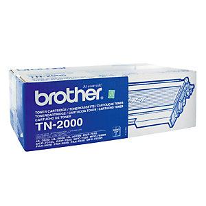 Toner Brother TN 2000 zwart voor laser printers