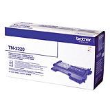 Toner Brother TN 2220 noir pour imprimantes laser##Toner Brother TN 2220 zwart voor laser printers