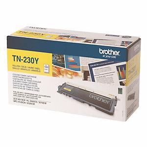 Toner Brother TN 230Y jaune pour imprimantes laser