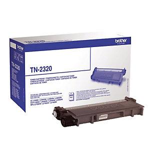 Toner Brother TN 2320 noir pour imprimantes laser
