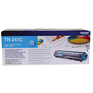 Toner Brother TN-241C cyan pour imprimantes laser