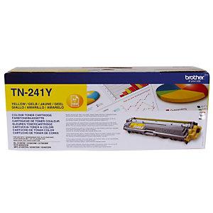 Toner Brother TN-241Y jaune pour imprimantes laser