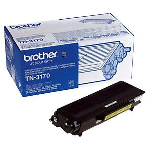 Toner Brother TN 3170 noir pour imprimantes laser