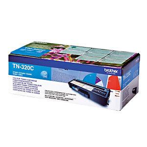 Toner Brother TN 320C cyaan voor laser printers