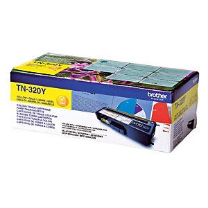 Toner Brother TN 320Y geel voor laser printers