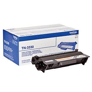 Toner Brother TN 3330 noir pour imprimantes laser