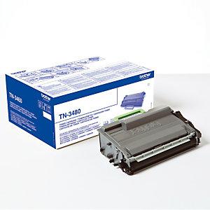 Toner Brother TN3480 noir pour imprimantes laser