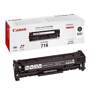 Toner Canon 718 noir pour imprimantes laser