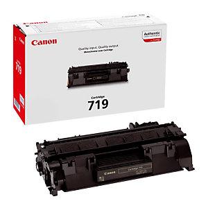 Toner Canon 719 noir pour imprimantes laser