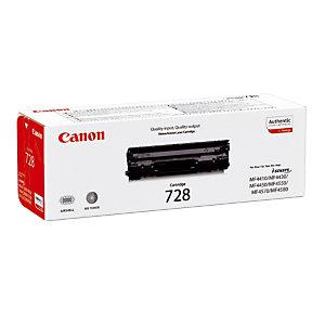 Toner Canon 728 noir pour imprimantes laser