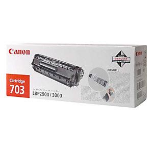 Toner Canon EP-703 noir pour imprimantes laser