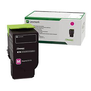 Toner cartridge Lexmark C2320M0 magenta kleur