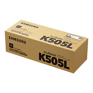 Toner cartridge met grote capaciteit Samsung CLT-K505 zwarte kleur