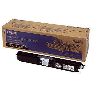 Toner Epson n°S050557 zwart voor laser printers