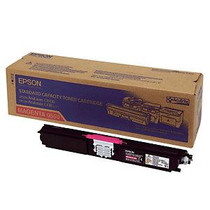 Toner Epson n°S050559 magenta voor laser printers