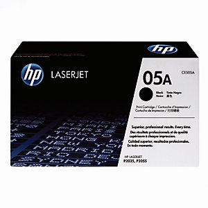 Toner HP 05A noir pour imprimantes laser