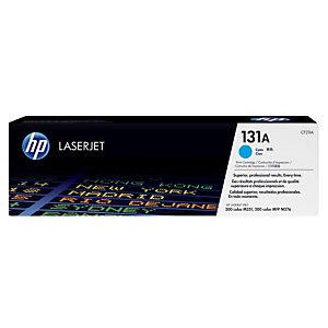 Toner HP 131A cyan pour imprimantes laser