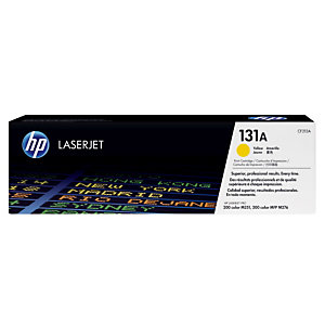 Toner HP 131A jaune pour imprimantes laser