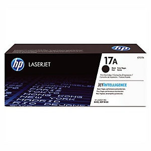 Toner HP 17 A zwart voor laser printers