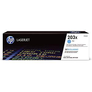 Toner HP 203 X cyaan voor laser printers