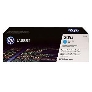Toner HP 305A cyaan voor laserprinters