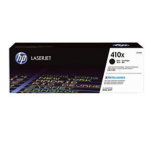 Toner HP 410 X zwart voor laser printers