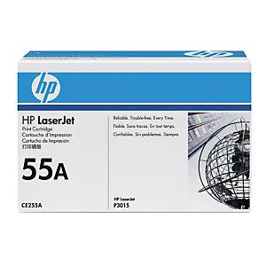 Toner HP 55A noir pour imprimantes laser