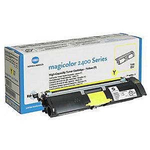 Toner Konica Minolta n°1710589-001 geel voor laser printers
