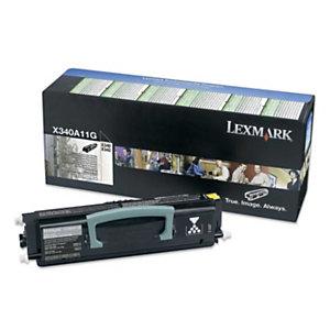 Toner Lexmark n°X340A11G zwart voor laser printers