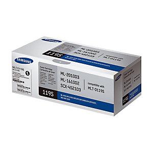 Toner Samsung MLT-D119S noir pour imprimantes laser