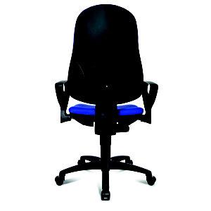 TOPSTAR Sedia operativa per ufficio con braccioli, Blu ...