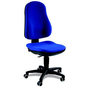 TOPSTAR Support Contact Silla de oficina, tela, altura 99-112 cm, azul