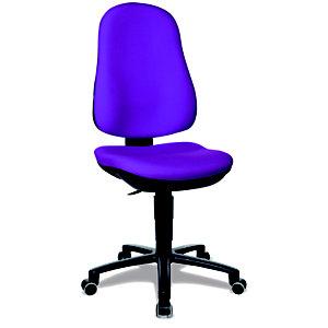 TOPSTAR Support Contact Silla de oficina, tela, altura 99-112 cm, violeta