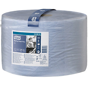 Tork Advanced Wiper 430 Performance W1 toallitas de limpieza, 2 capas, 1500 hojas, en relieve, 235mm, azul