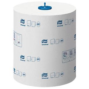 Tork Essuie-mains H1 Matic Extra Long, simple épaisseur, ø rouleau 19 cm - Blanc