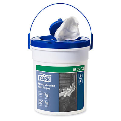 Tork hand cleaning wet wipes