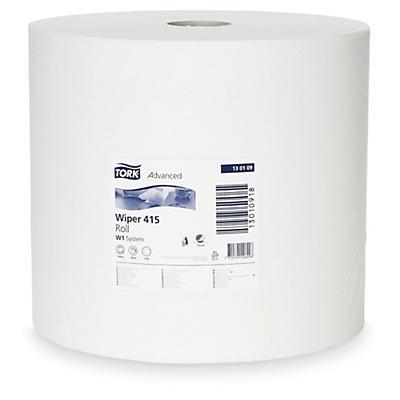 Tork® tørkepapir - Standard W1 - hvitt papir på rull