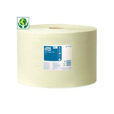 Tork® torkpapper - Basic W1  - Gult torkpapper på rulle