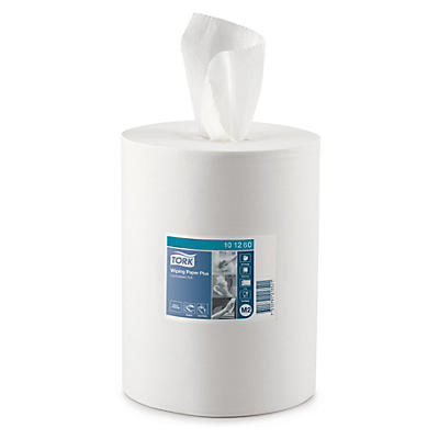 Tork Wiping Paper Plus centrefeed rolls