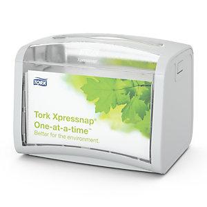 Tork Xpressnap Dispenser per tovaglioli in plastica grigia 155 x 201 x 150 mm
