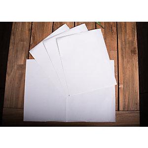 Tovaglietta monouso piegata in carta a 2 veli, Cellulosa, 34 x 50 cm, Bianco (confezione 2.800 pezzi)