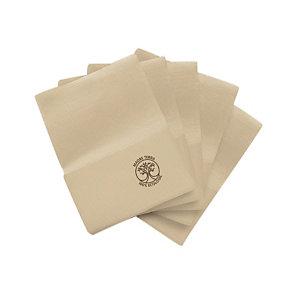 Tovagliolo bar Madre Terra, Carta 100% ecologica, 1 velo, Goffrato, 17 x 17 cm, Beige (confezione 250 pezzi)
